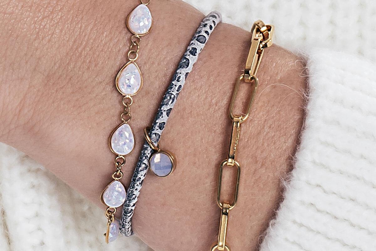 iXXXi JEWELRY - Snowy essentials bracelets